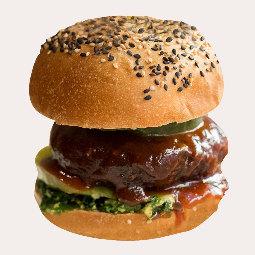 Receta hamburguesa de remolacha